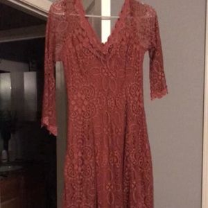 Size medium lace country style dress